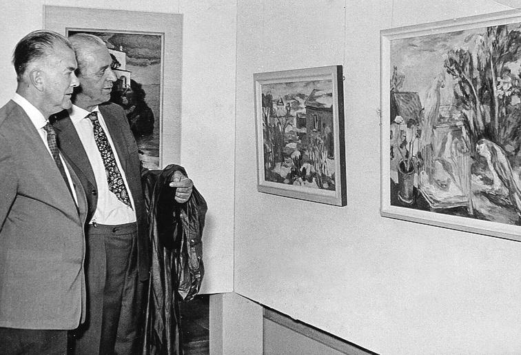Ausstellung Joseph Mader 60er