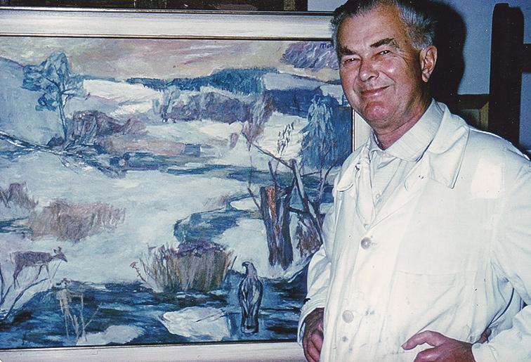 Gemälde Tiere Natur Joseph Mader