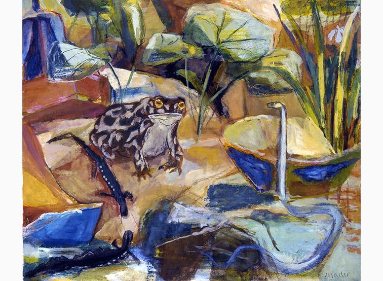Frosch und Schlange Joseph Mader