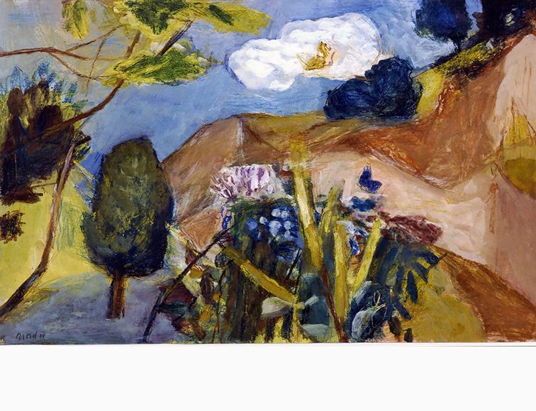 Landschaft mit Blumen Joseph Mader