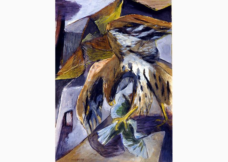 Adler Nachkriegszeit Maler Joseph Mader