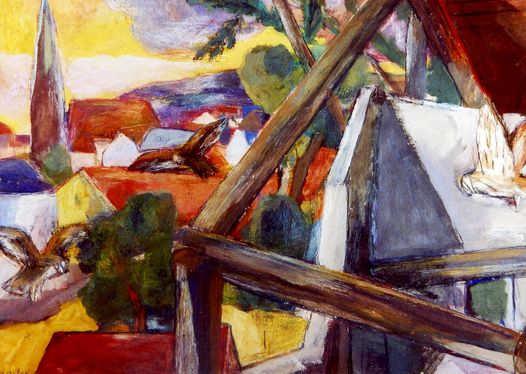 Verlassenes Haus Maler Joseph Mader