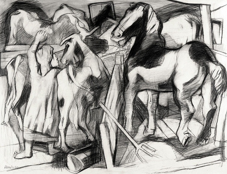 Studium Pferdestall 1930